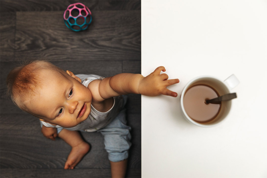 Too much caffeine can have a negative impact on children, especially younger children.