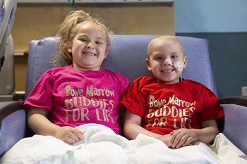 Abby and Adyn at Johns Hopkins All Children's Hospital