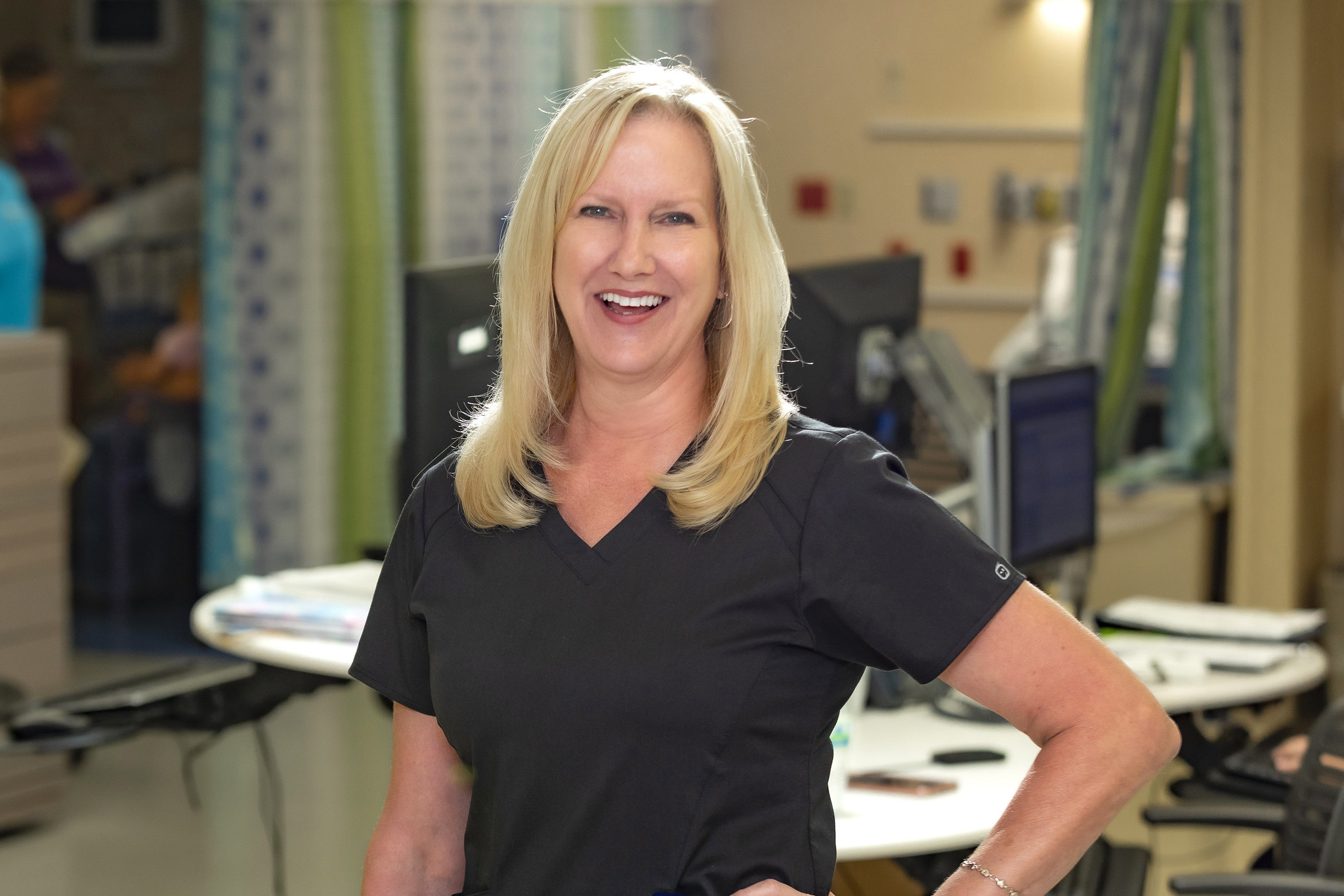 Sandra Horan, R.N., is a clinical manager in Perioperative Services at Johns Hopkins All Children's.