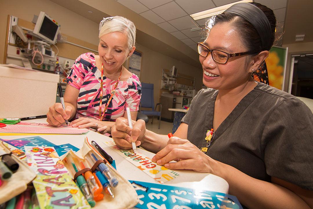 Neonatal Intensive Care Unit Nurses Use Creativity To Comfort
