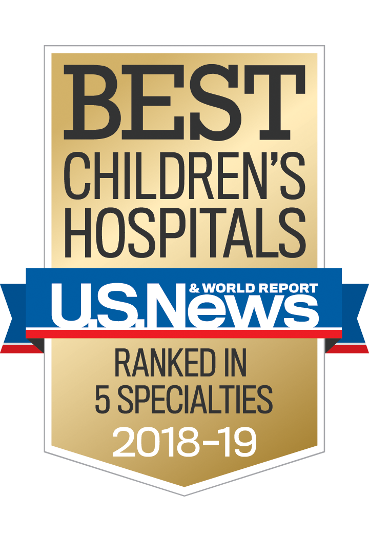 Best Hospitals In The Us 2019 Johns Hopkins All Children's Hospital Receives 2018 2019 U.S. News